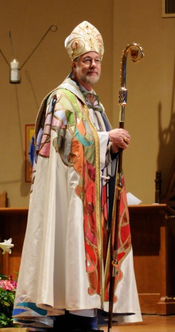 Bishop Michael to install  our new Vicar Patricia